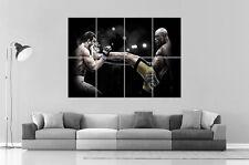 UFC Vitor Belfort vs Anderson Silva Wall Art Poster Great format A0 Wide Print