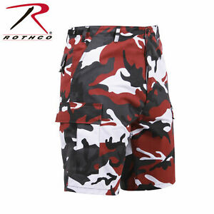 LABOR DAY SALE!! Army Cargo BDU Combat Shorts Button Fly Camo & Solid Rothco