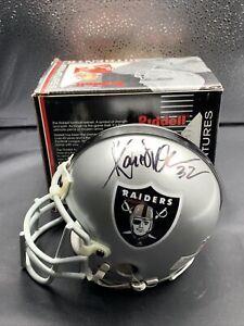 Marcus Allen Oakland Raiders Autographed Riddell Mini Helmet PSA/Dna