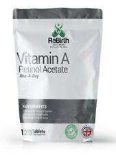 Vitamin A 10,000IU- 120 Tablets - Natural Form as Retinol Acetate - Skin, Vision