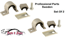 NEW 2x Volvo S40 V40 Front Sway Bar Bushing Kit (For 19mm Bar) #61431990 New