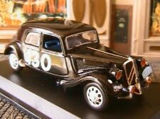 CITROEN TRACTION 15 SIX DE RALLYES 1954 NOREV 1/43 NOIR EDITIONS ATLAS BLACK