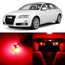 20 x Error Free RED Interior LED Lights Package For 2005- 2011 Audi A6 S6 +TOOL