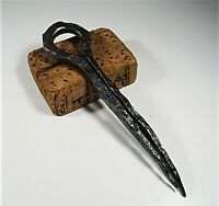 Antique 18th Century Stake Ring Wrought Iron Steel Blacksmith Hold Boats