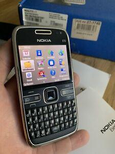 Nokia  E72 - Schwarz (Ohne Simlock) 100% Original !Neuwertig!!! Top Zustand !!