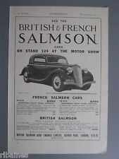 R&L Ex-Mag Advert: Salmon Car / Parson Snow Chains for Tyres