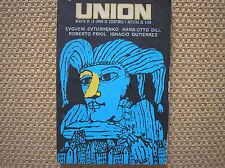 UNION 1 1984 REVISTA ESCRITORES CUBA FRIOL DILL EVTUSHENKO BACHS GUTIERREZ