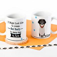 Personalised Dog Mug Funny Puppy Cup Birthday Gift Dog Mum Dog Dad Quote DM
