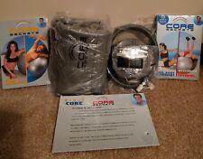 New Gunnar Peterson's Core Secrets Workout 2 workout dvds , Ball & Pump
