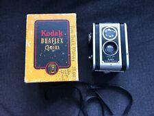 Vintage KODAK DUAFLEX CAMERA w/ Box Kodet Lens uses 620 film