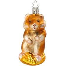 Inge Glas Christbaumschmuck Hamster