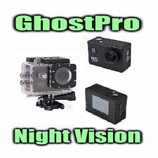 Paranormal Ghost Hunting Equipment Night Vision Action Cam w/ Full HD 1080p