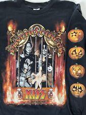 KISS PSYCHO CIRCUS OFFICIAL CONCERT SHIRT 1998 TOUR HALLOWEEN VINTAGE HTF RARE!