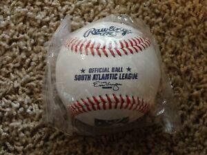 Rawlings Official SOUTH ATLANTIC LEAGUE Baseball (1 NEW Minor League Ball)