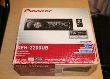 PIONEER Car Stereo DEH-2200UB CD Receiver Radio CD Player with USB AUX iPod READ