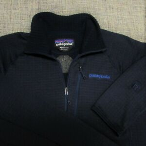 PATAGONIA 1/4 ZIP POLY SPANDEX REGULATOR  PULLOVER-M--ACURA--SPOTLESS QUALITY!!!