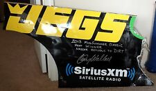 KENNY WALLACE Signed Autographed Rear Quarter Panel from 2013 Mudsummer Classic