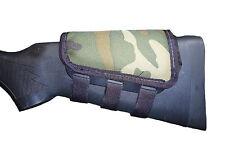 Rifle Cheek Pad / Cheek Riser / CheekRest by ITC Marksmanship / Woodland Cordura