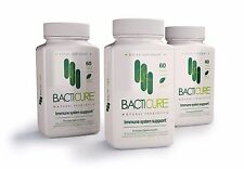 3 BACTICURE PROBIOTIC NATURAL,8 BILLION CFUs, ULTRA STRENGHT,ULTIMATE FLORA