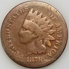 1878 Indian Head Cent! Add this coin to your collection!