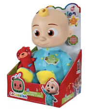 🎁❄️NEW Cocomelon Plush Body Musical Bedtime JJ Doll Sound In Hand - SHIPS FAST!