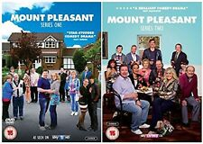 MOUNT PLEASANT COMPLETE 1-2 BRITISH COMEDY DVD SEASON UK Release NEW Sealed R2