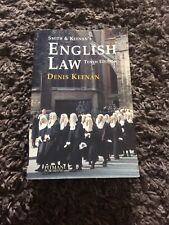 Smith & Keenan's English Law Book by Dennis Keenan