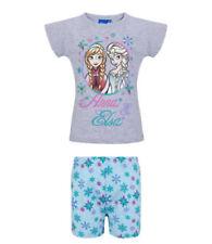 Ropa de niña de 2 a 16 años azules Disney de 100% algodón