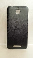 custodia cover case rv glamour rigida damascata nero per HTC Desire 510 A11