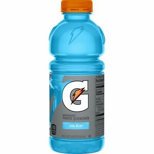 Gatorade Thirst Quencher Cool Blue Sports Drink 591ml-US IMPORT