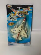 USAF X Force Commander Die Cast Metal Airplane Mighty Engine Great Faith Toys