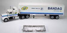 HO 1/87 Promotex # 6011 Peterbilt Aero w/40' Dry Van - Bandag Tire