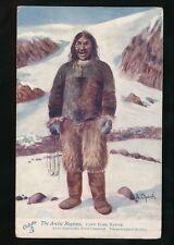 Exploration ARCTIC REGIONS Cape York Native Eskimo Tuck #7339 PPC