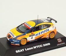 Seat Leon 2.0 TDI-fia WTCC 2009 #4 oschersleben seat sport J. genes gené 1:43