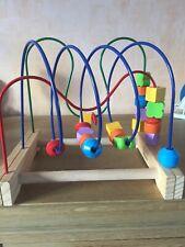 Boulier labyrinthe circuit de motricité en bois