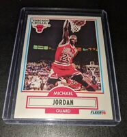 Michael Jordan 1990 1991 Fleer Chicago Bulls Most Wanted Mint PSA Ready