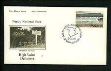Postal History Canada NR Covers FDC #726 Fundy National Park 1979