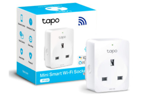 TP-Link Tapo Smart Plug Wi-Fi Outlet, Works with Amazon Alexa Echo and Echo Dot,