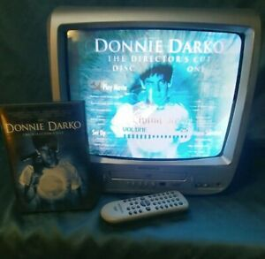 "Magnavox CD130MW8 13"" TV DVD Player Combo CRT Television Retro Gaming W/REMOTE"
