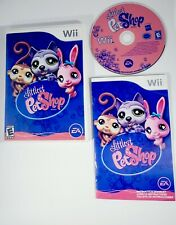 Littlest Pet Shop (Nintendo Wii) LPS - Complete with Manual - Free Shipping