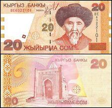 Kyrgyzstan 20 Som, 2002, P-19, UNC