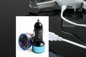 DJI Mavic Mini Car Charger Dual USB For Drone Remote Controller Charging Hub