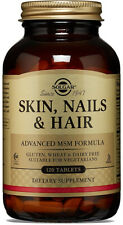 Skin, Nails & Hair Tablets by Solgar, 120 tablet