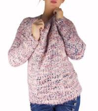 Mehrfarbige Winter Damen-Pullover