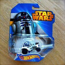 Disney STAR WARS Hot Wheels R2-D2 #2 diecast Mattel Droid ARTOO INTL Shiny Clean