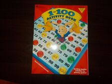 1-100 Activity Book Grades Pre-k to 2 by Learning Resources Dawn Bacarella