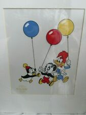 Woody Woodpecker Serigraph Chilly Willy Andy Panda by Walter Lantz