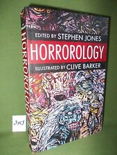 STEPHEN JONES (Ed.) HORROROLOGY FIRST UK PAPERBACK EDITION NEW AND UNREAD
