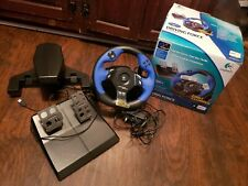 Logitech Driving Force Racing Steering Wheel PS2 PlayStation 2 USB