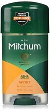 4 Pack Mitchum Men Power Gel Anti-Perspirant Deodorant Sport 2.25 oz